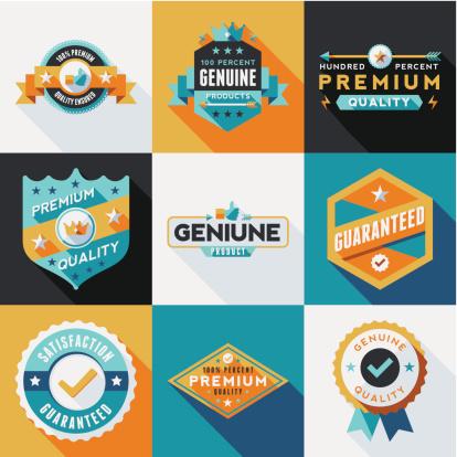 Flat Labels & Badges Set