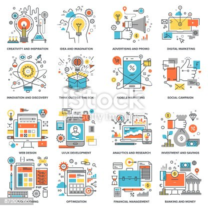 istock Flat Line Concepts 872002652
