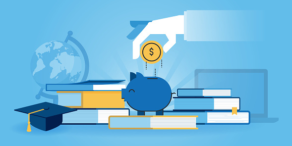 Savings stock illustrations