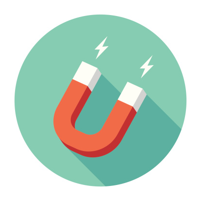Flat Magnet Icon Stock Illustration - Download Image Now