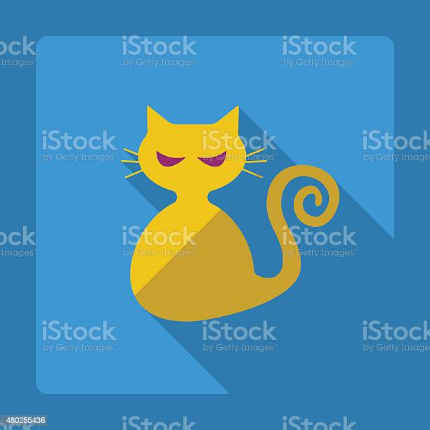 Flat modern design with shadow cat vector id480255436?b=1&k=6&m=480255436&s=612x612&h=bnsfvlh5e un0fokeqziqg9xv1kb95j oi44cd 6wro=