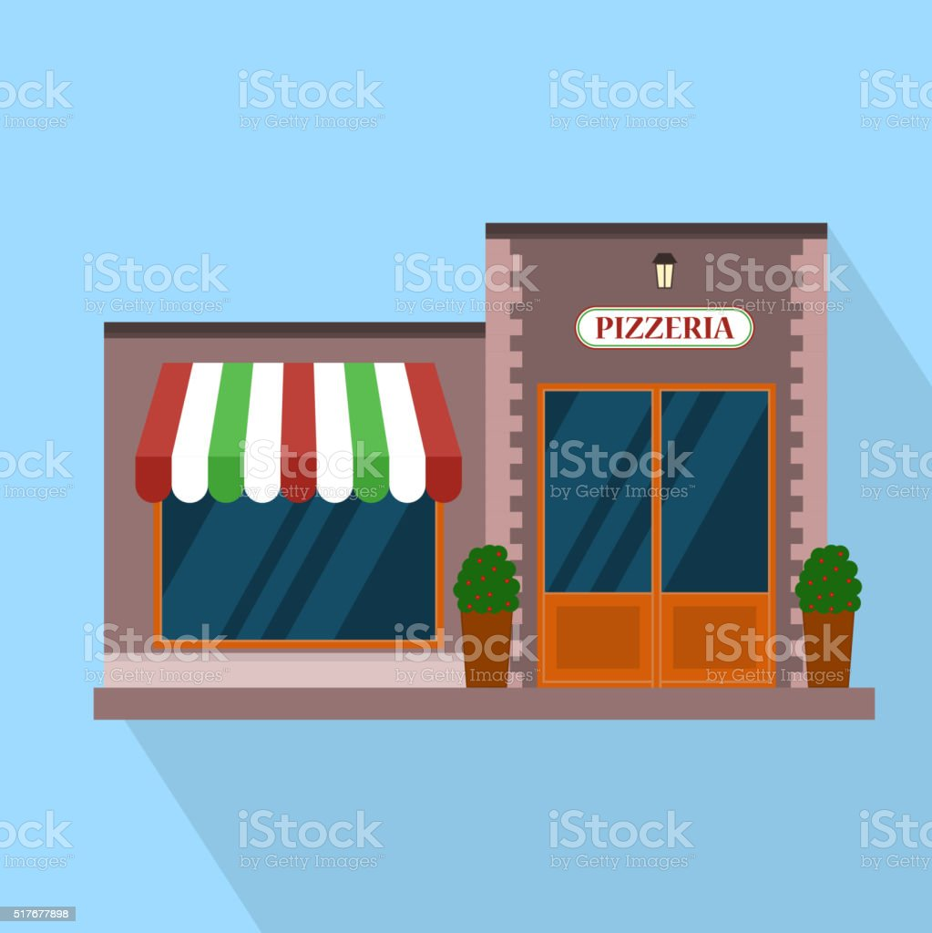 Restaurante Pizzer A Bloque De Construcci N Planos Infograf A  # Muebles Pizzeria