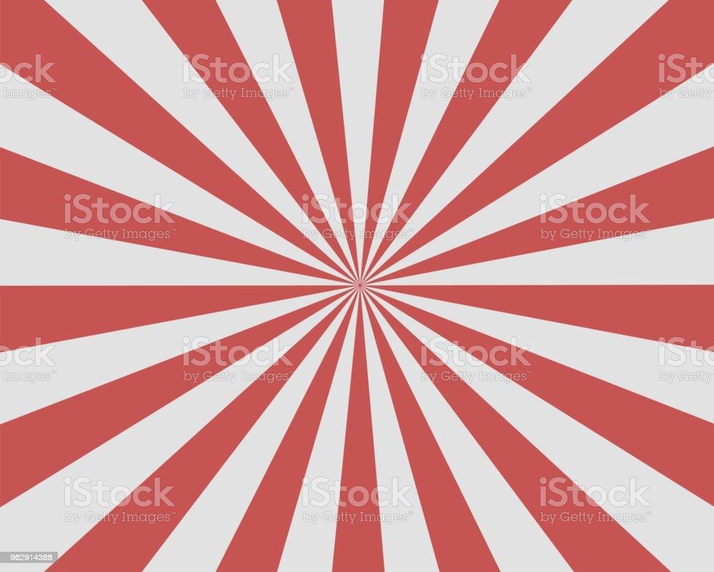 Plano vectorial de fondo rojo blanco Sunburst rayos rayo de sol ilustración de plano vectorial de fondo rojo blanco sunburst rayos rayo de sol y más vectores libres de derechos de abstracto libre de derechos