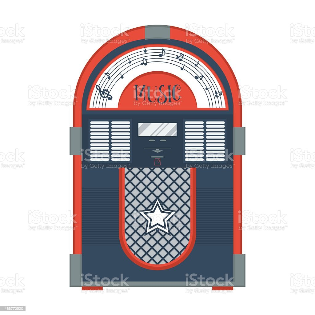 royalty free jukebox clip art vector images illustrations istock rh istockphoto com jukebox pictures clip art 50's jukebox clipart