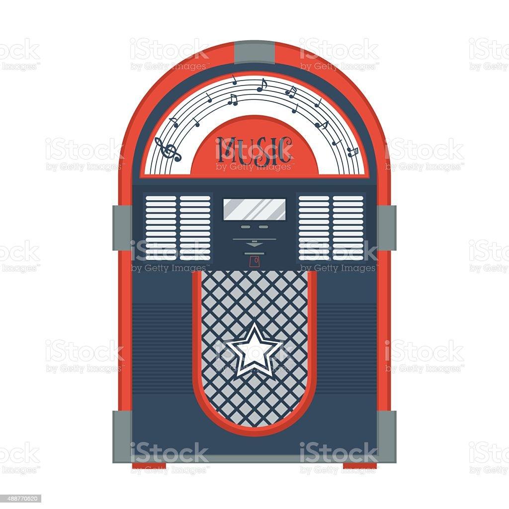 royalty free jukebox clip art vector images illustrations istock rh istockphoto com 50's jukebox clipart 1950s jukebox clip art