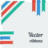 Flat ribbons