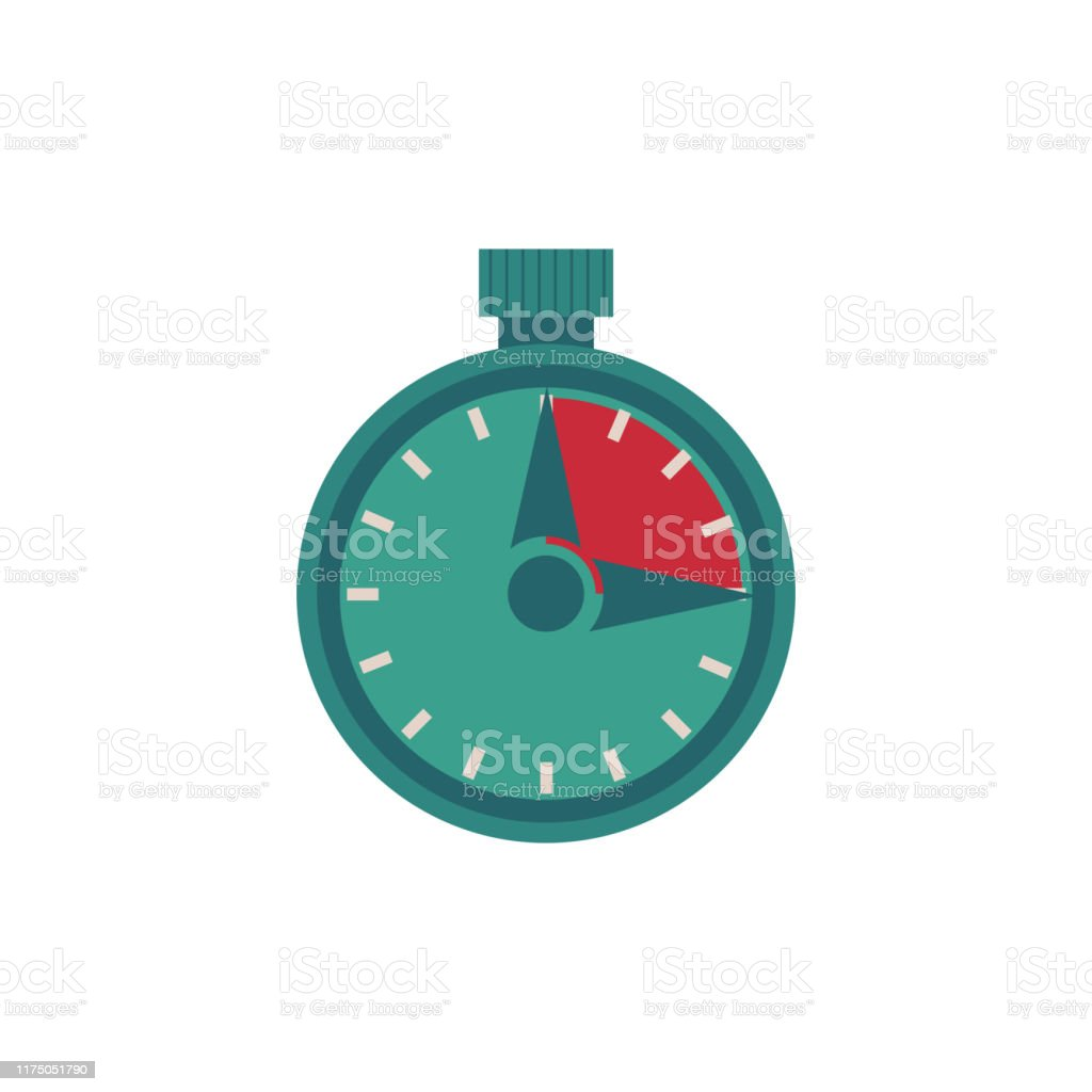 Soy Elioss Cristal. - Página 3 Flat-stopwatch-illustration-isolated-on-white-background-vector-id1175051790
