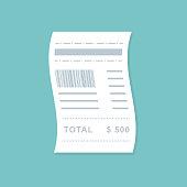 flat style bill payment design