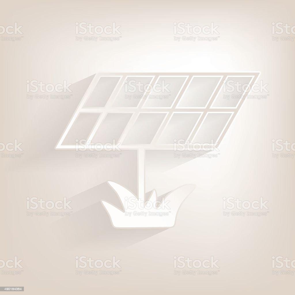 サン batery フラットアイコンと影 のイラスト素材 490184364 istock