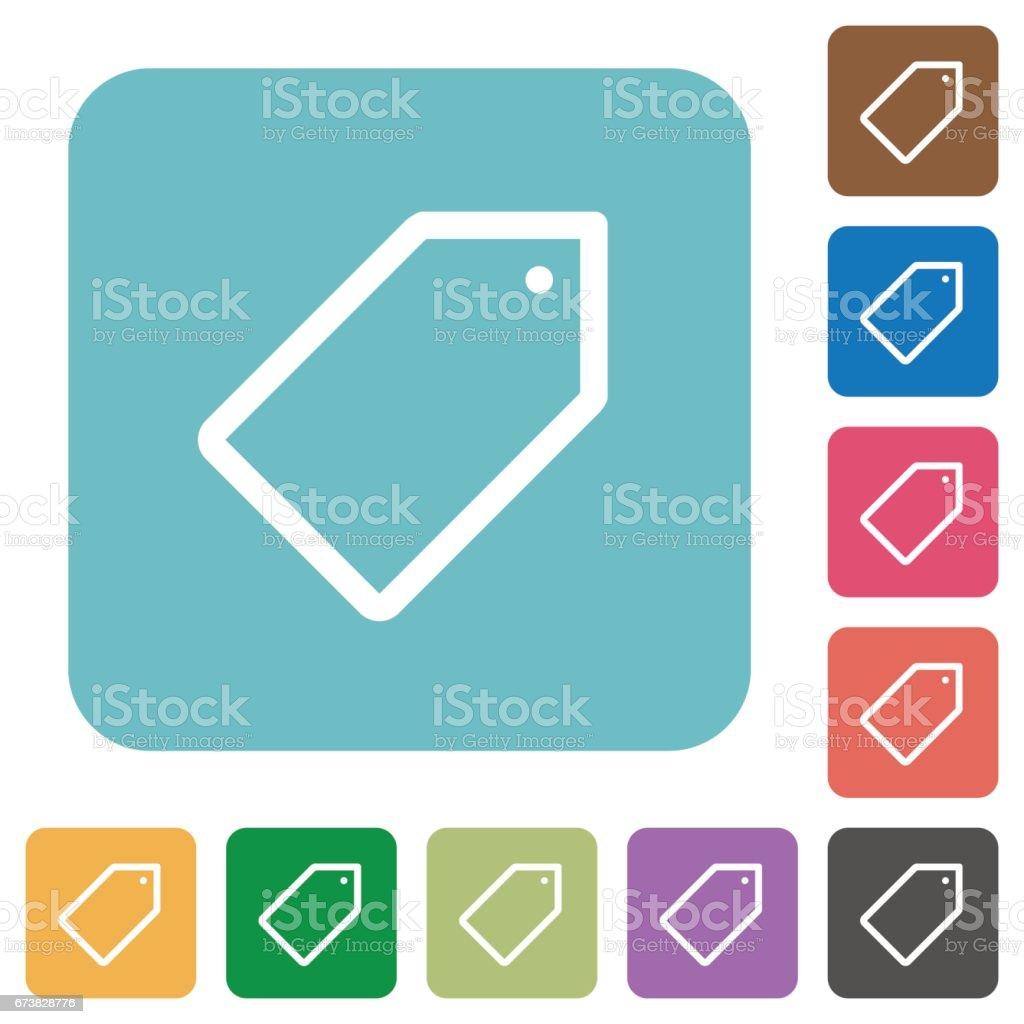 Icônes de balise plate icônes de balise plate – cliparts vectoriels et plus d'images de affaires libre de droits
