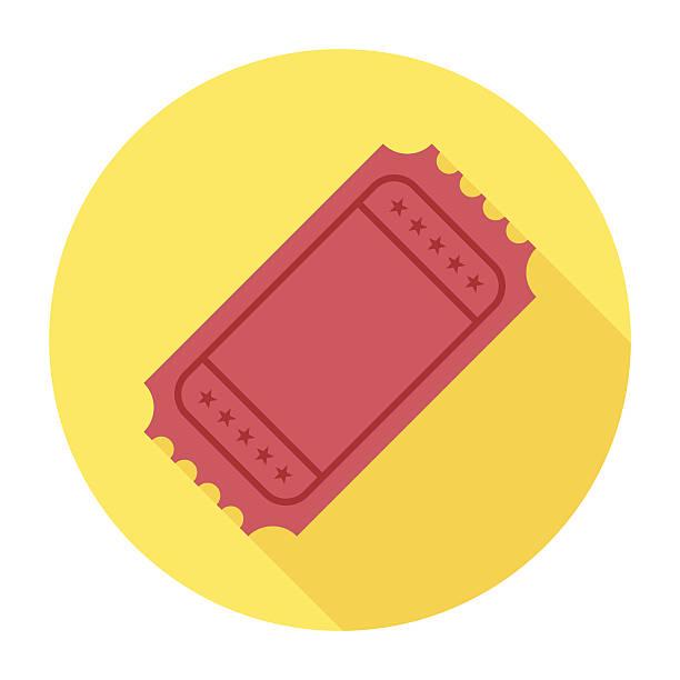 평편 항공권 아이콘크기 - 티켓 스텁 stock illustrations