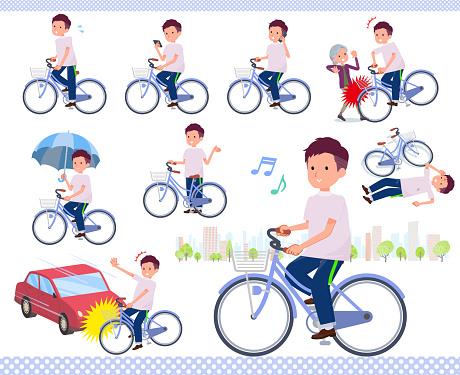 flat type big T-shirt man_city cycle