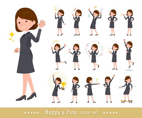 flat type business women_Fine