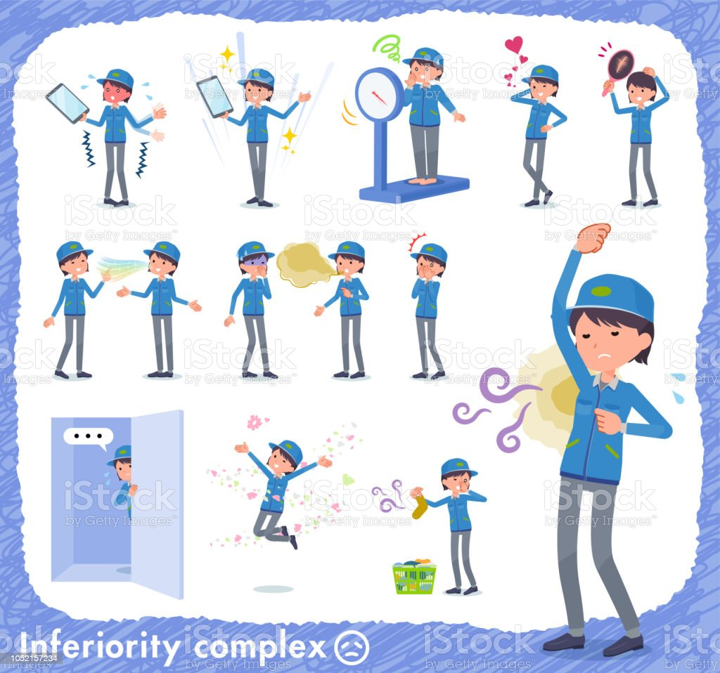 flat type Delivery women_complex vector art illustration