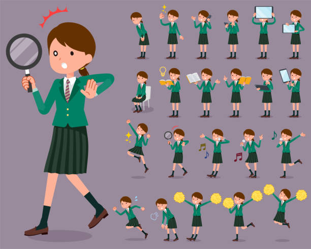 Royalty Free Middle School Students Clip Art, Vector ...