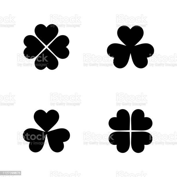 Flat vector clover icon set vector id1127299875?b=1&k=6&m=1127299875&s=612x612&h=0iiac4eao s7h6lha1pzlwi9yqzuferor0e0cv1v44a=