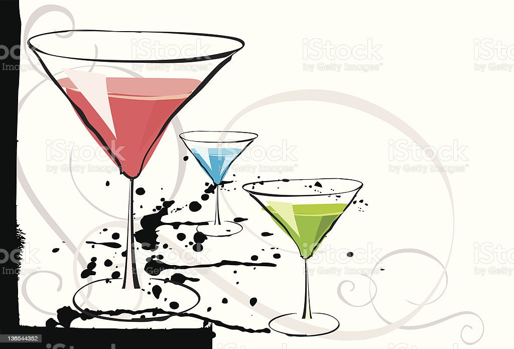 Flavored martinis royalty-free flavored martinis stock vector art & more images of alcohol