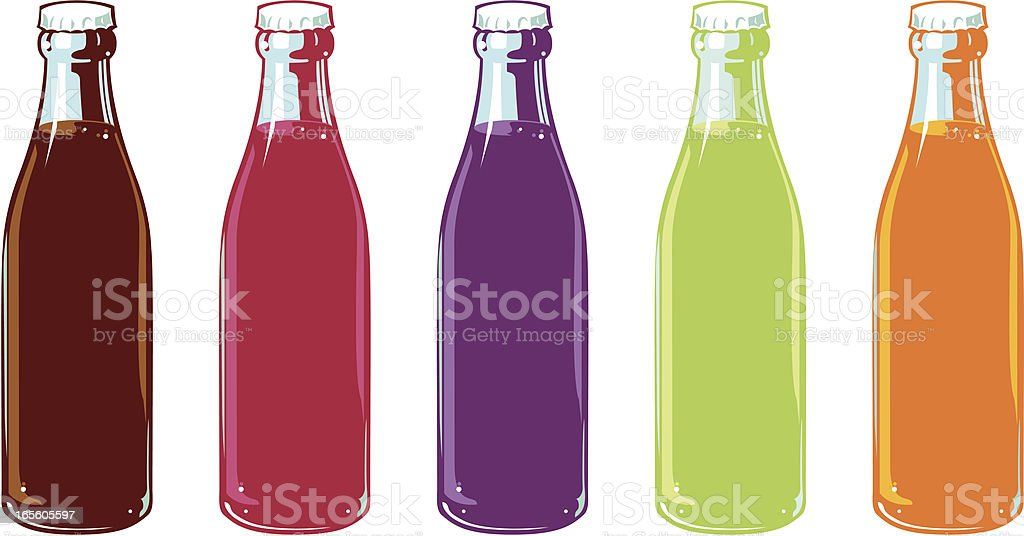 royalty free soda pop bottles clip art vector images rh istockphoto com free soda bottle clipart plastic soda bottle clipart