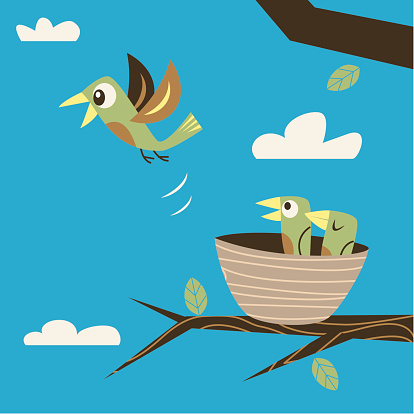 Fleeing the nest