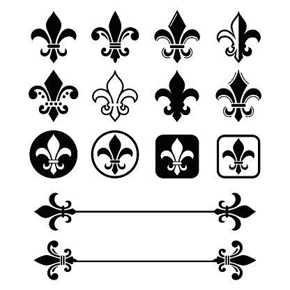 Fleur de lis - French symbol design, Scouting organizations, French heralry