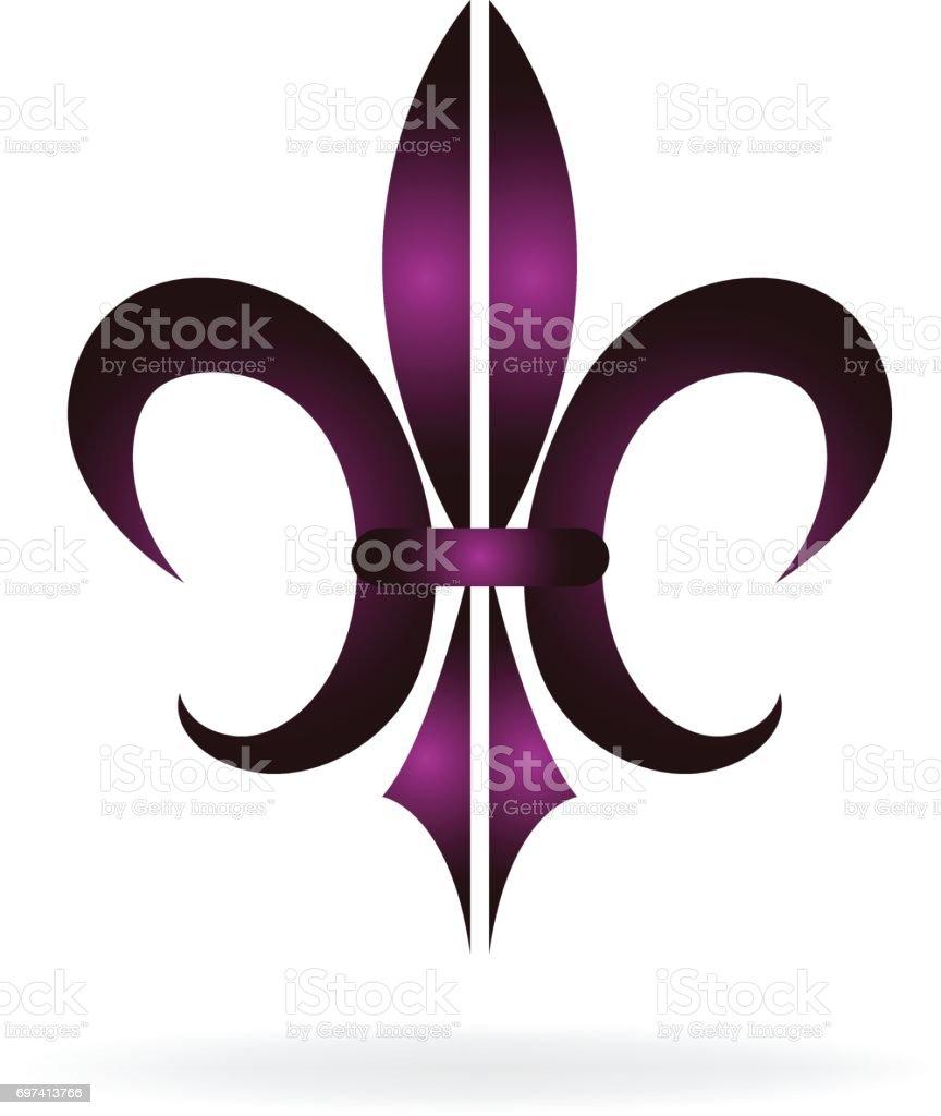 Fleur De Lis New Orleans Symbol Stock Vector Art More Images Of