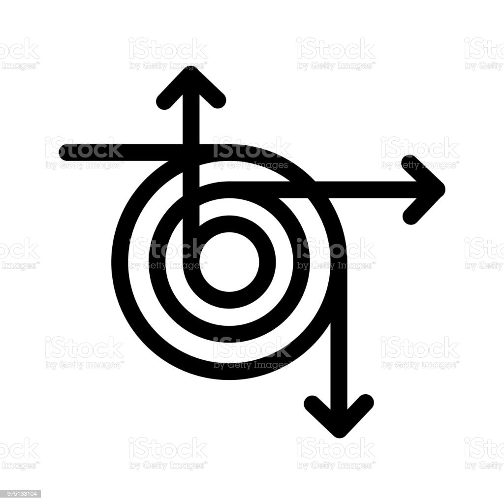 flexibility icon, vector illustration vector art illustration