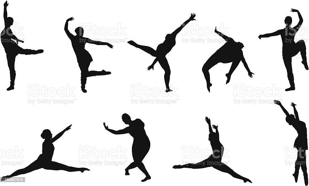 Flexible position royalty-free flexible position stock vector art & more images of acrobat