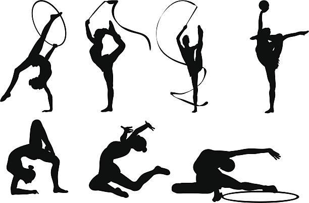 多極 - 体操競技点のイラスト素材/クリップアート素材/マンガ素材/アイコン素材