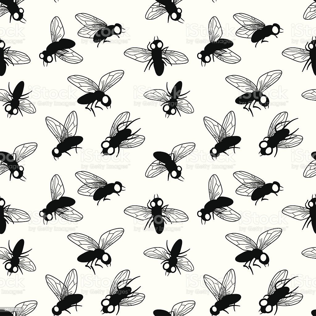 Flies royalty-free flies stock illustration - download image now