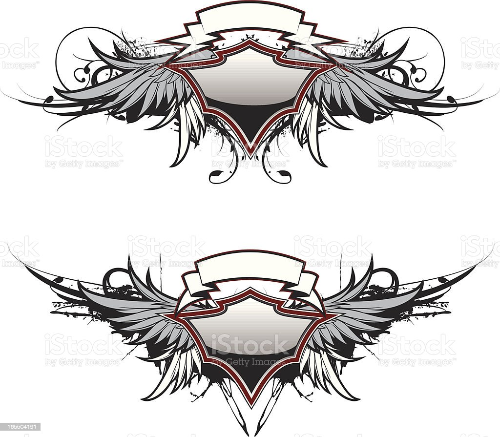 flight crest royalty-free flight crest stock vector art & more images of backgrounds