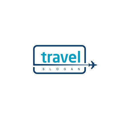 Flight Plane Symbol For Travel Company