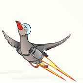 Flight reactive birds