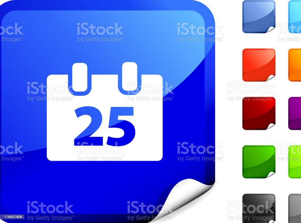 Flip calendar internet royalty free vector art vector art illustration