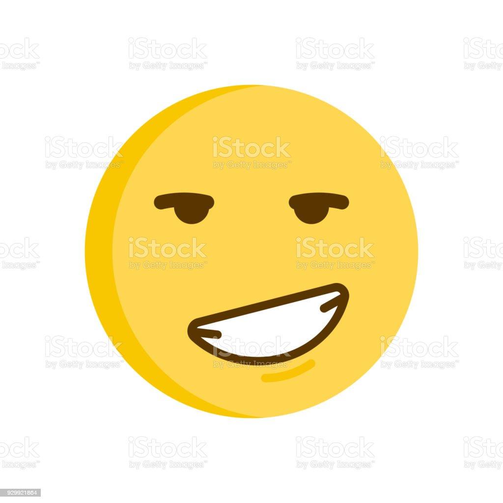 zwinkernder smiley flirten