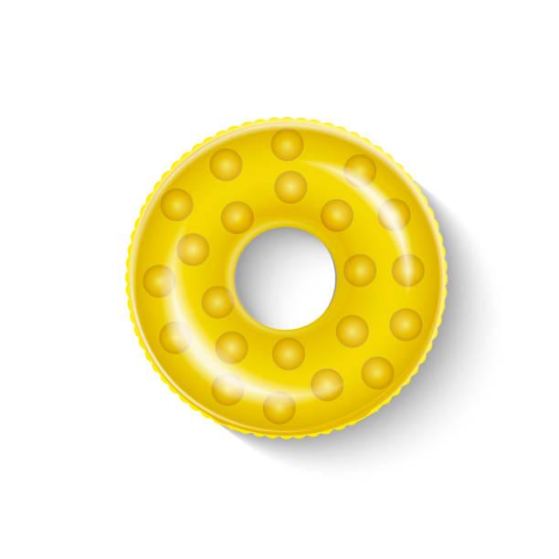 bildbanksillustrationer, clip art samt tecknat material och ikoner med symbol för flottörring - inflatable ring