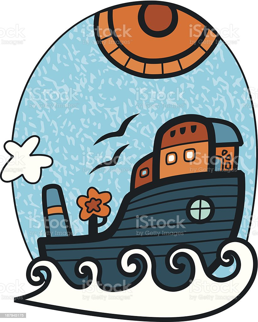 Floating city royalty-free floating city stock vector art & more images of ark