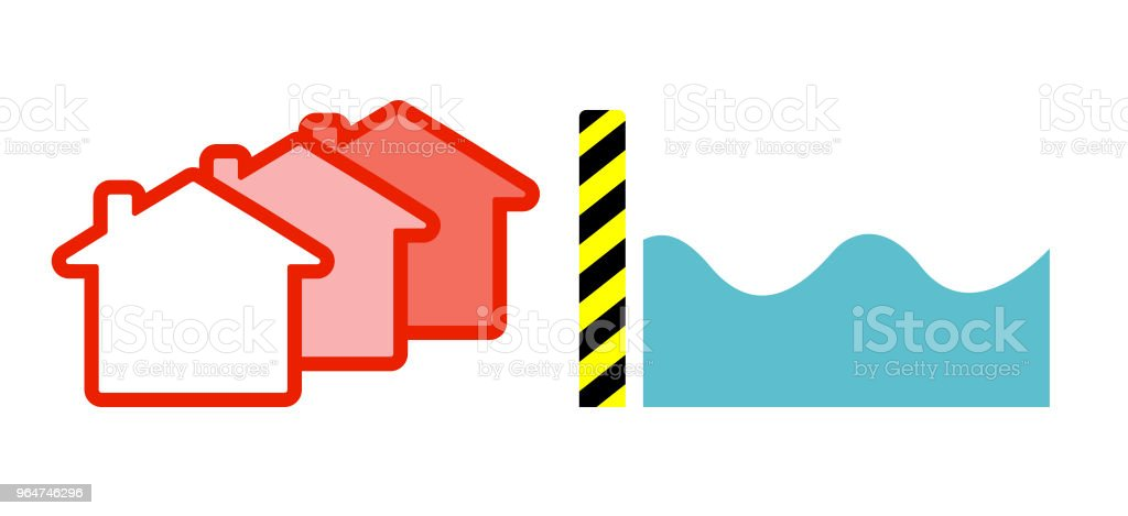 Flood control royalty-free flood control stock vector art & more images of accidents and disasters