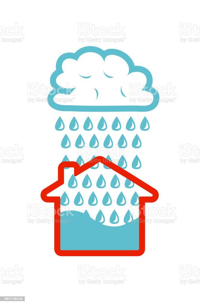 Floods royalty-free floods stock illustration - download image now