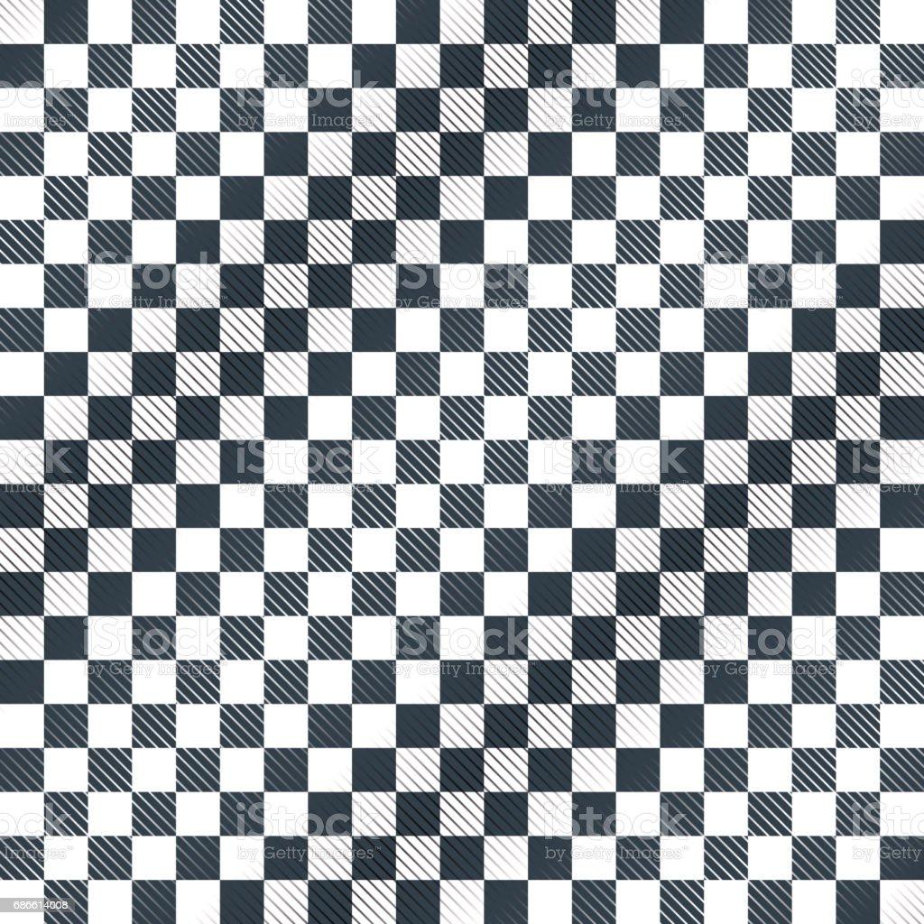 Floor, checkerboard or finish racing car flag vector
