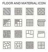 floor material icon