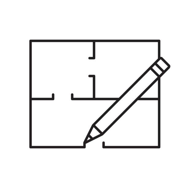 Royalty Free Floor Plan Icon Clip Art, Vector Images