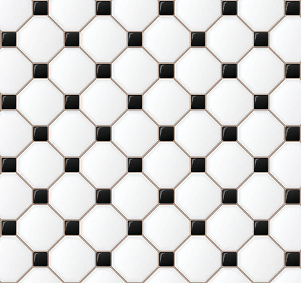 floor tile design background - ilustración de arte vectorial