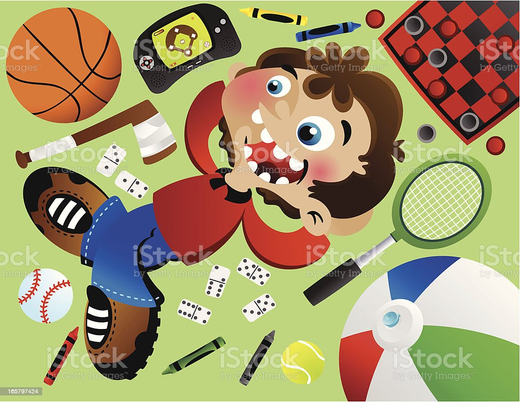 Floor Toys royalty-free floor toys stock vector art & more images of baseball - ball