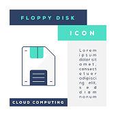 istock Floppy Disk Icon 1322635213