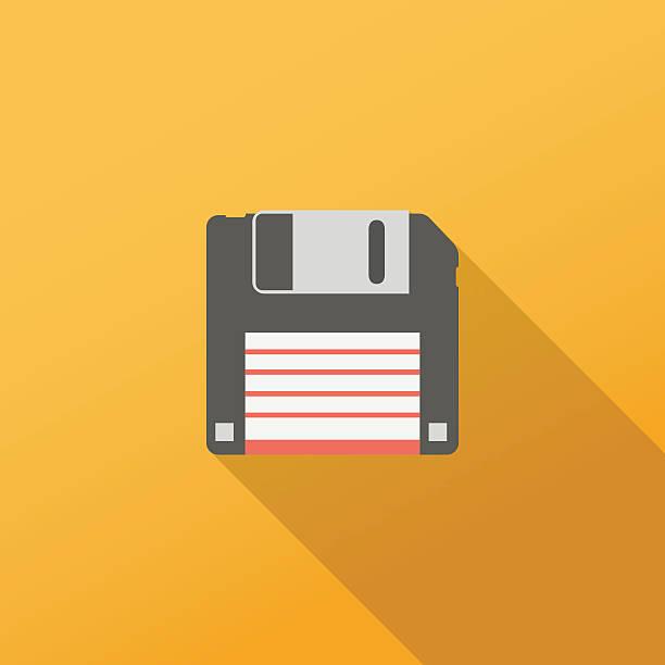 Computerdiskette-Symbol – Vektorgrafik