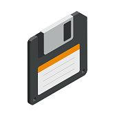 Floppy disk save icon