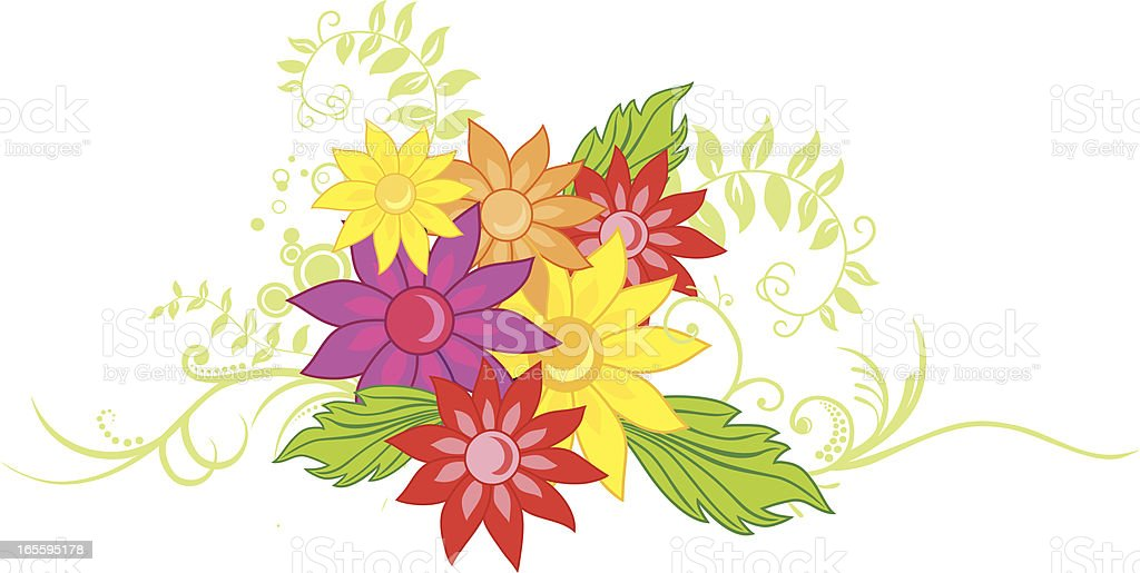 Floral Arrangement royalty-free floral arrangement stock vector art & more images of abstract