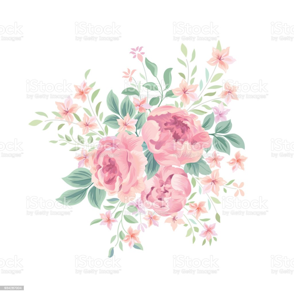 floral background flower bouquet flourish spring floral greeting
