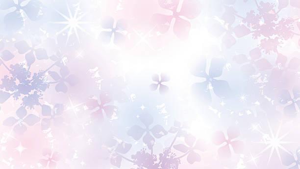 紫陽花 イラスト素材 Istock