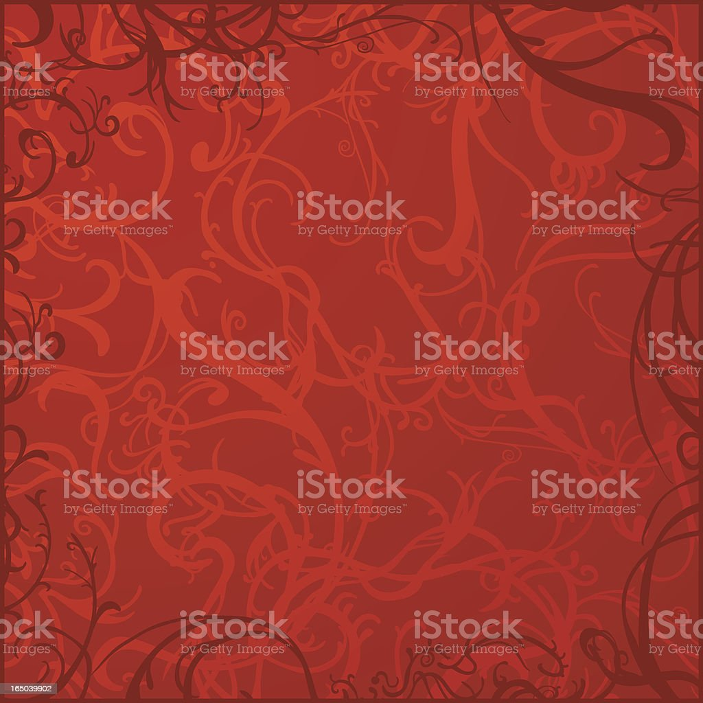 Floral Background - Passion royalty-free stock vector art